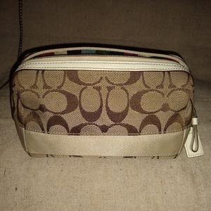 Coach signature cosmetic bag 40756.